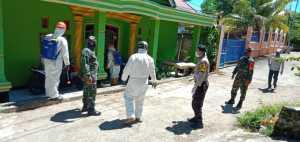 BPBD Kota Bau-bau Masifkan Penyemprotan Desinfektan di Lingkungan Warga ODP