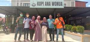 Cegah Covid-19, Tim Ana Wonua Grup Bagikan Masker Gratis