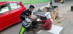 PM. Project Automotive Club Kendari dan Barak PDI-Perjuangan Bersinergi Melawan Covid–19