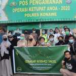 Semarak Ramadhan, Angkatan Mepokoaso 2010 MTsN 1 Konawe Bagikan Puluhan Takjil Kepada Masyarakat Konawe
