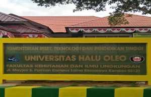 Dukung Pembangunan Hutan Indonesia di Tengah Pandemi, FHIL UHO Bakal Gelar Webinar Nasional