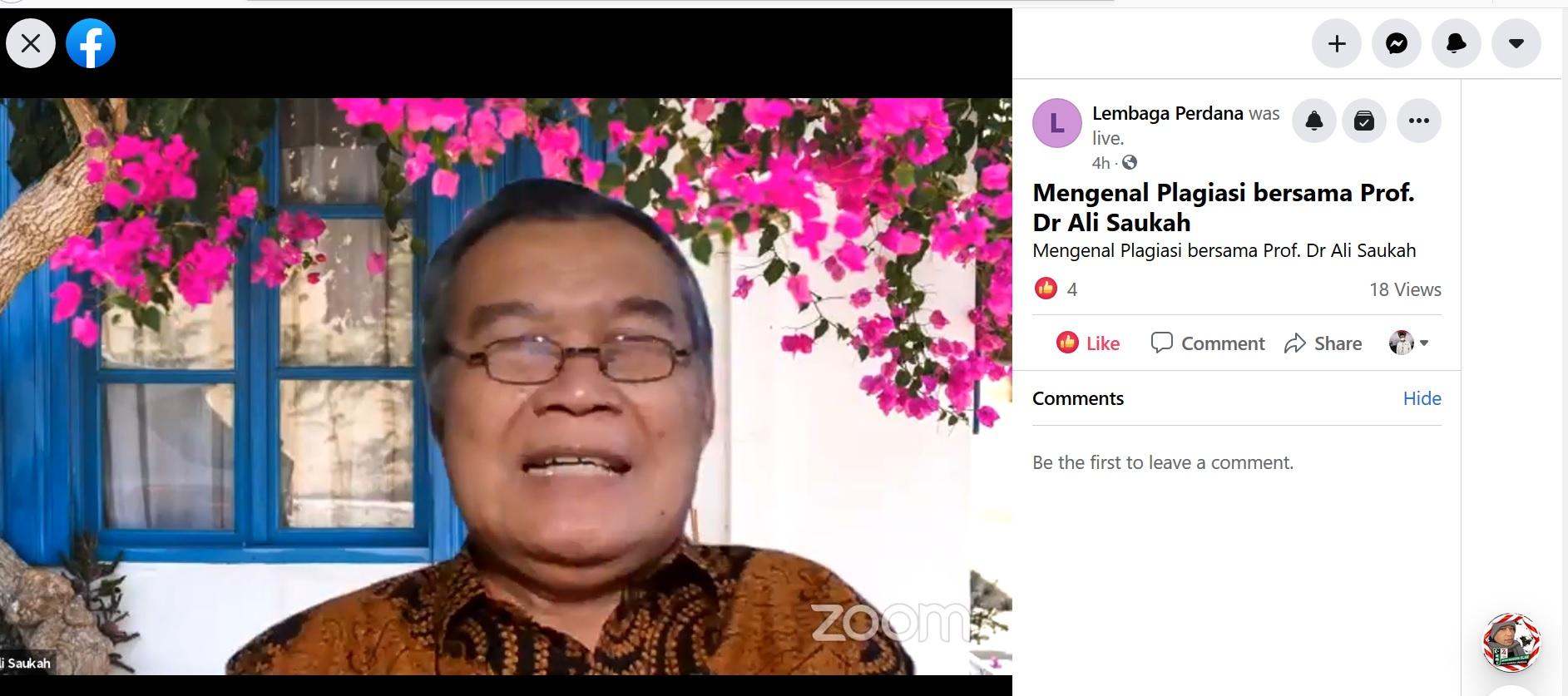 Jurnal Laa Maisyir dan HMJ Ekonomi Islam UIN Alauddin Laksanakan Kuliah Tamu Bersama Akademisi Kendari